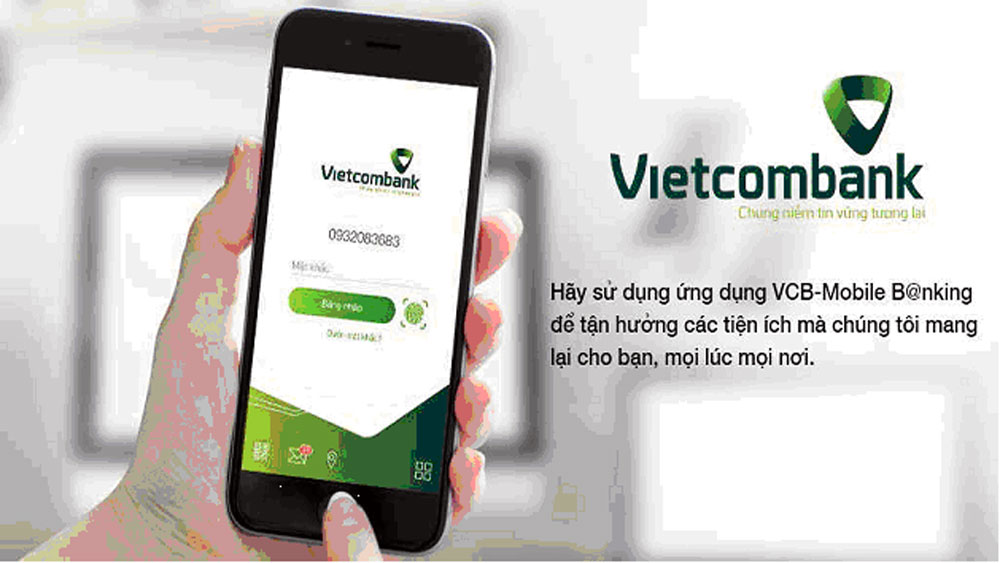 Vietcombank: Ra mắt phiên bản mới dịch vụ ngân hàng trên điện thoại di động